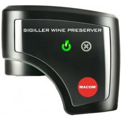 Automatická elektr. vakuová zátka na víno Macom Sigiller 951, černá