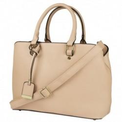 Elegantní růžová kabelka s jemným zdobením