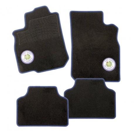 Carfashion C03, Auto rohože sada 4dílná v černé barvě