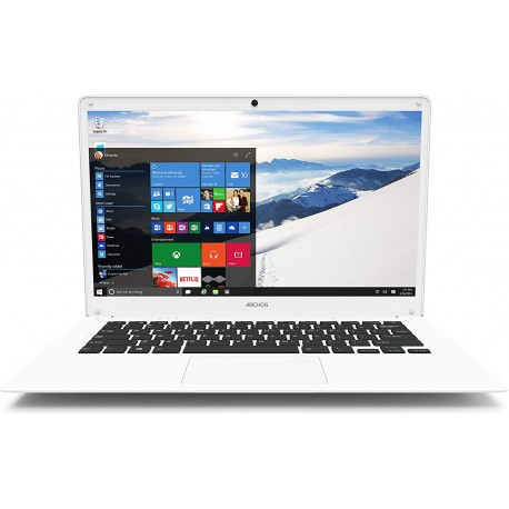 Ultrabook Archos 140 Cesium, Intel Atom 1.3 GHz, 2GB RAM, 32GB SSD, Windows 10, bílá