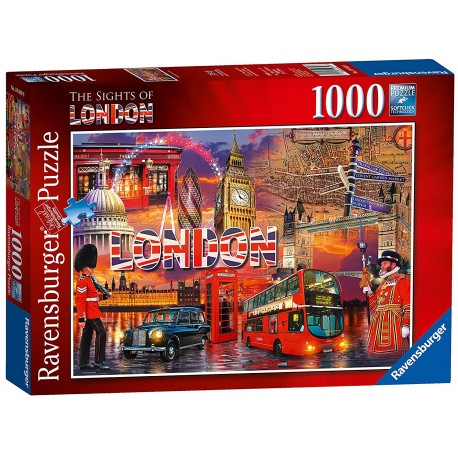 Puzzle Ravensburger Sights of London, 1000ks