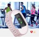 Fitness náramkové hodinky Willful SW351 - světlá růžová