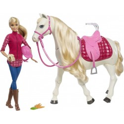 Panenka Barbie Dream Horse Mattel