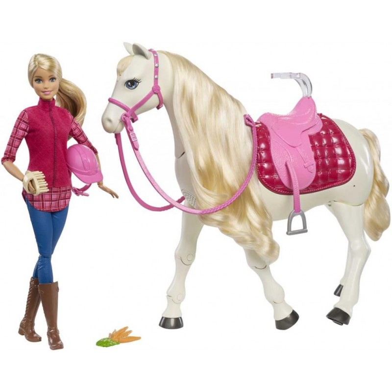 Panenka Barbie Dream Horse Mattel Mattel