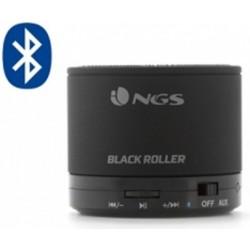 Přenosný Bluetooth mini reproduktor NGS Black Roller, 520mAh - černá