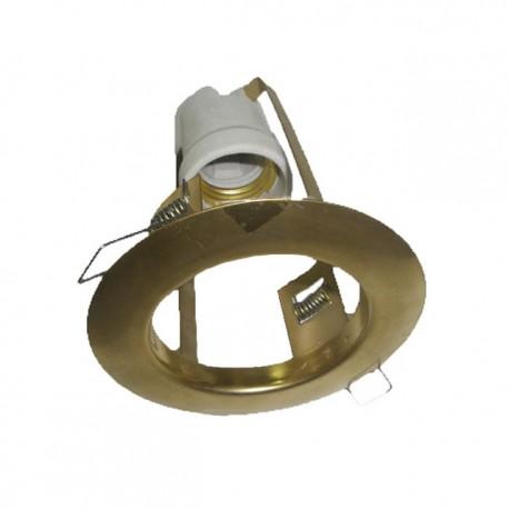 Bodové nehybné svítidlo Brilum R-80S - antická mosaz