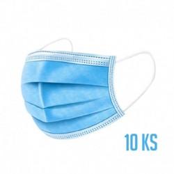 Ochranná 3-vrstvá rouška z netkané textilie - 10 ks
