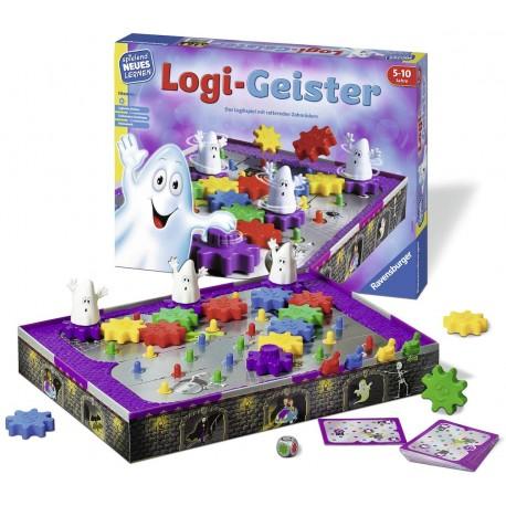 Dětská hra Ravensburger 25042 Logi-Geister - strašidelný dům hrůzy