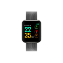 Chytré hodinky S88 černá - kov