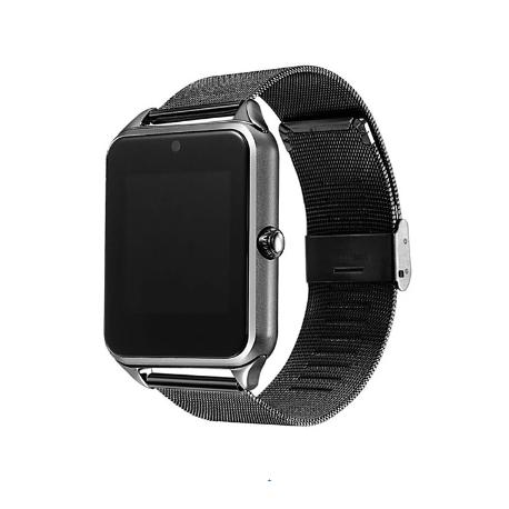Chytré hodinky na SIM GT09 - černá
