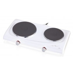 Dvouplotýnkový elektrický vařič ETA 3119, bílá