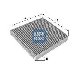 Vzduchový filtr s aktivním uhlím Ufi 54.248.00