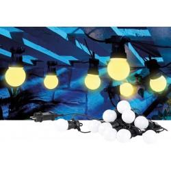 Světelný řetěz Lunartec NX8532-944 10LED, 4,5m - černá