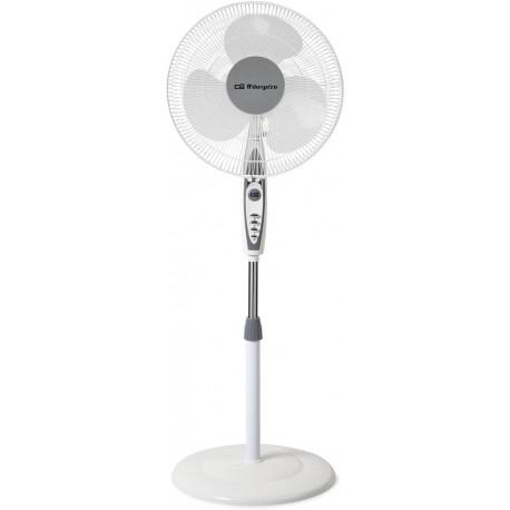 Stojanový ventilátor Orbegozo SF 0147, 50W, bílá