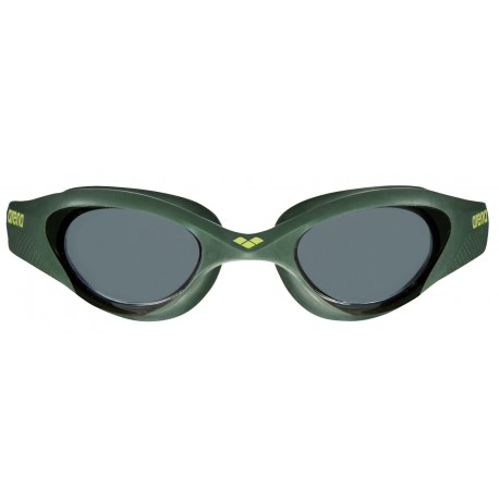 Plavecké brýle Arena The One 001430-560-NS, černozelená