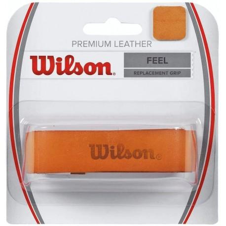 Kožený grip na tenisovou raketu WILSON Premium - WRZ420100
