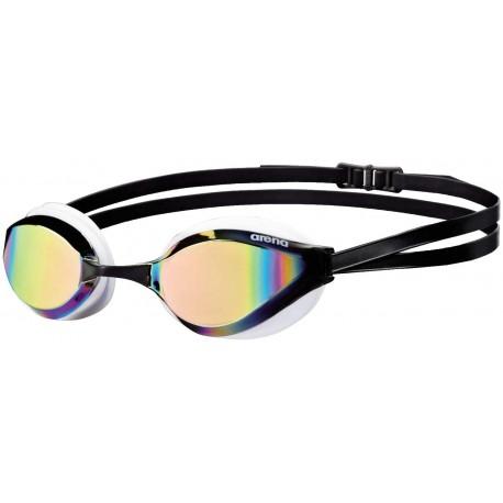Plavecké brýle Arena Python Mirror, bílá