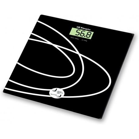 Osobní váha Orbegozo PB 2015, černá