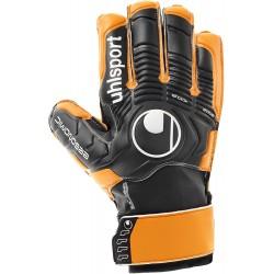 Brankářské rukavice Uhlsport Eliminator Soft vel. 9 - 100018201, černooranžová