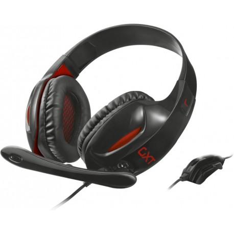 Herní sluchátka Trust GXT 330 XL Endurance - černá