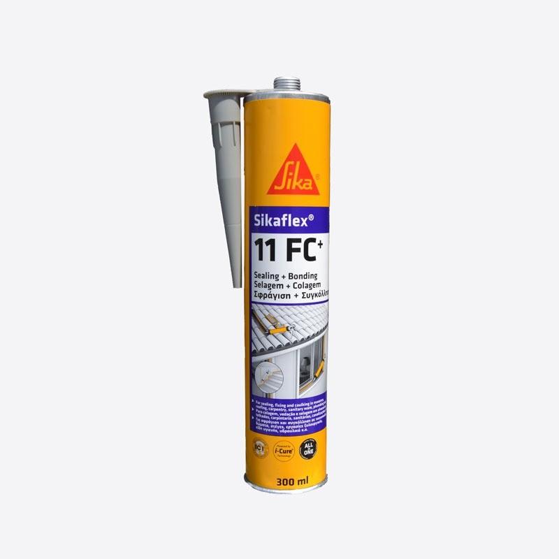 Polyuretanový tmel SikaFlex 11FC 300ml - bílá SikaFlex