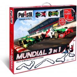 Autodráha Polistil F1 Mundial 3in1 (96124)