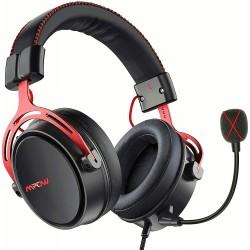 Herní sluchátka s mikrofonem Mpow Air SE (BH439A), červeno-černá
