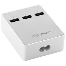 Nabíjecí 3-portová USB stanice Ugreen 20360, bílá