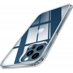 Ochranný silikonový obal pro iPhone 12 Pro Max Casekoo, transparentní