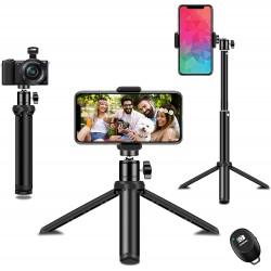 Selfie tyč se stativem pro smartphone a fotoaparát Syosin SJJPM-0001, černá