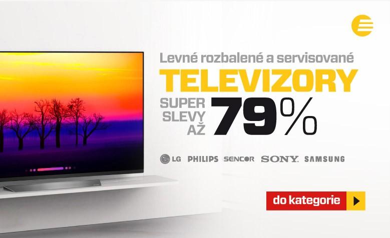 Televize se slevami až 79 %