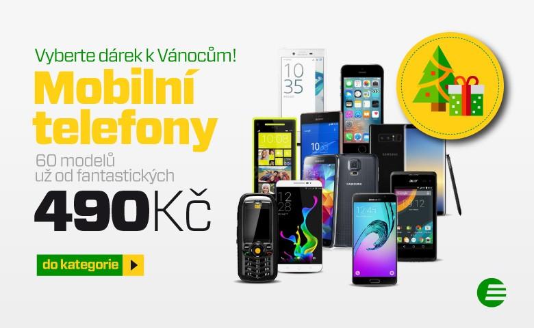 Smartphony od 649 Kč