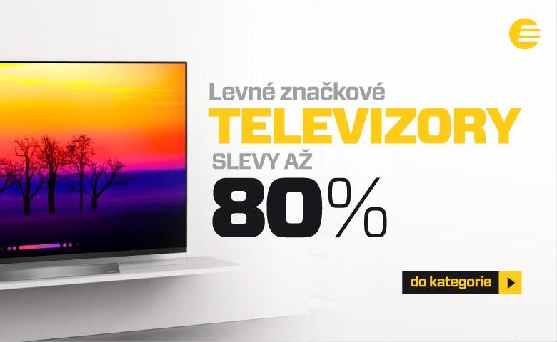 Televize se slevami až 80 %