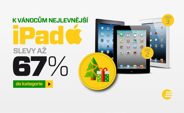 iPady na vánoce