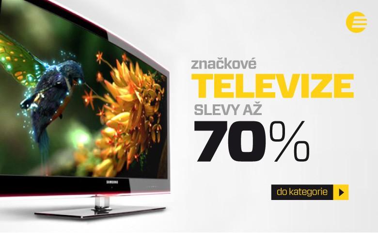 Televize se slevami až 78 %